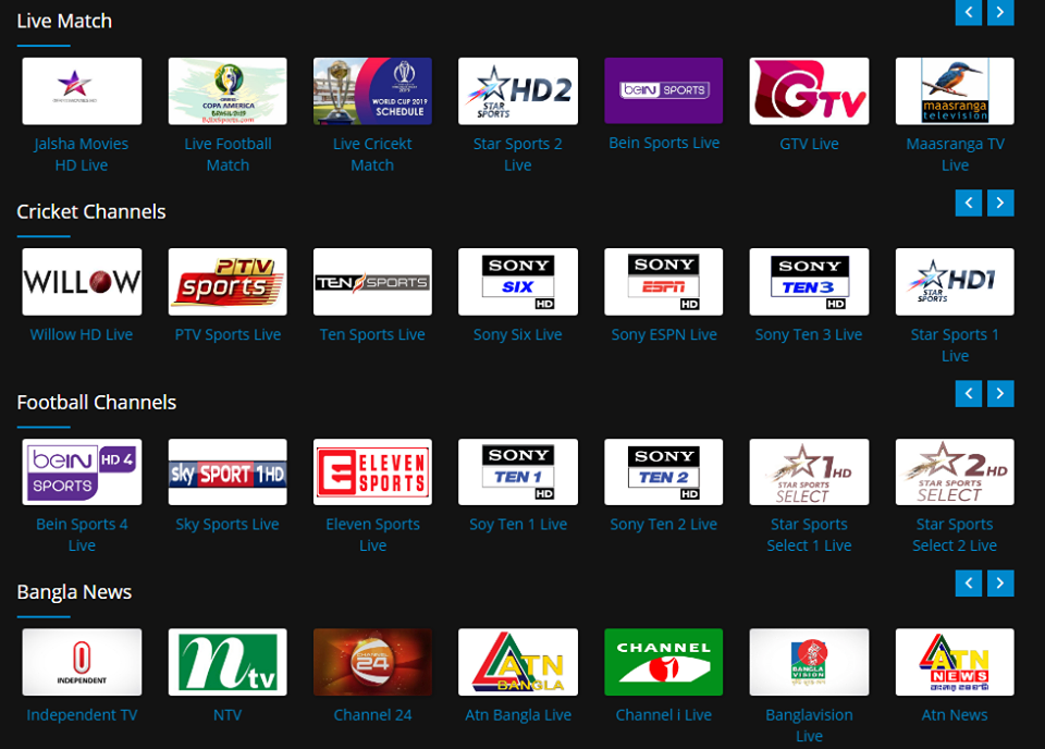 Best app for watch live cricket and world cup