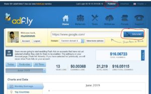 how to income money from adfly