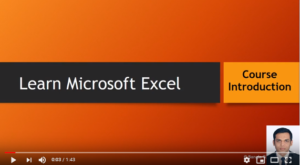 how to learn microsoft excel