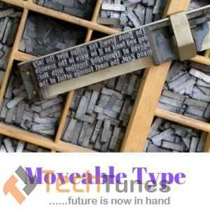 Moveable Type Printing