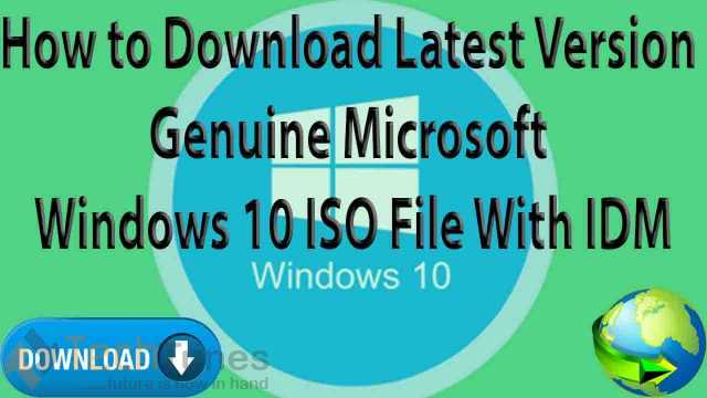 how to download windows 10 original iso file