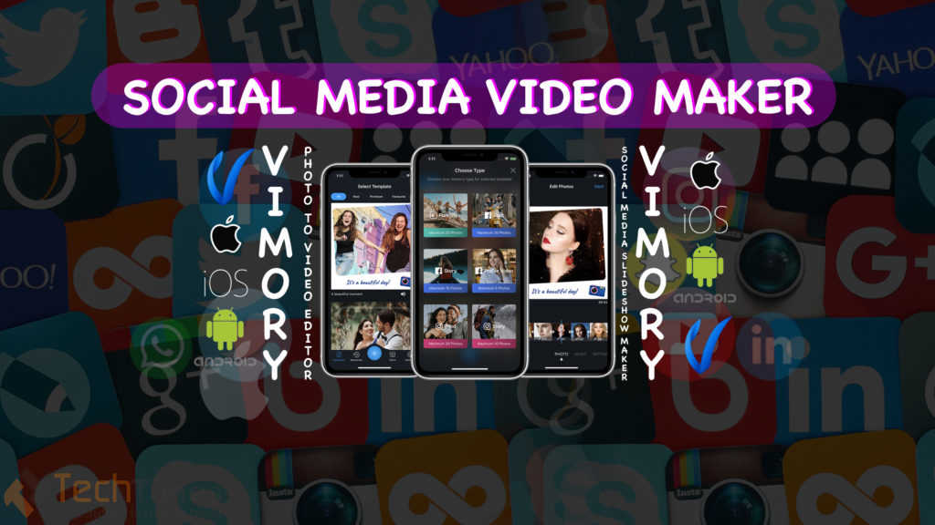 Photo to Video Editor - Social Media Video Slideshow Maker