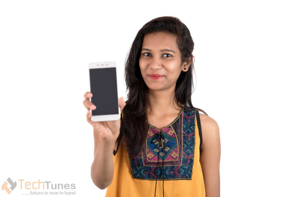 smartphone with model
