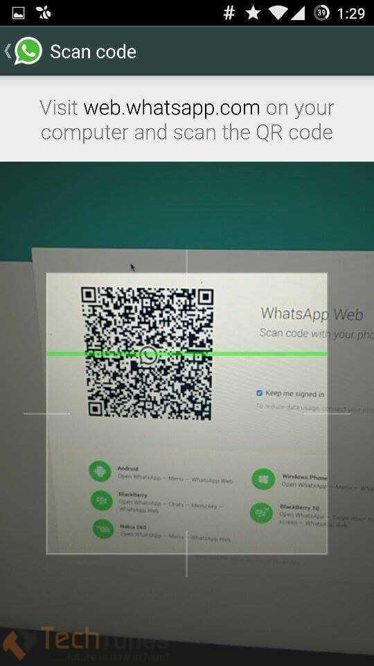 use whatsapp in desktop
