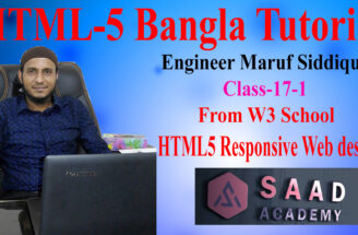 17-1- html-5 Bangla Tutorial from w3 school class --17-1-47fb35d9