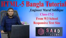 17-2- html-5 Bangla Tutorial from w3 school class --17-2-406f0fb5